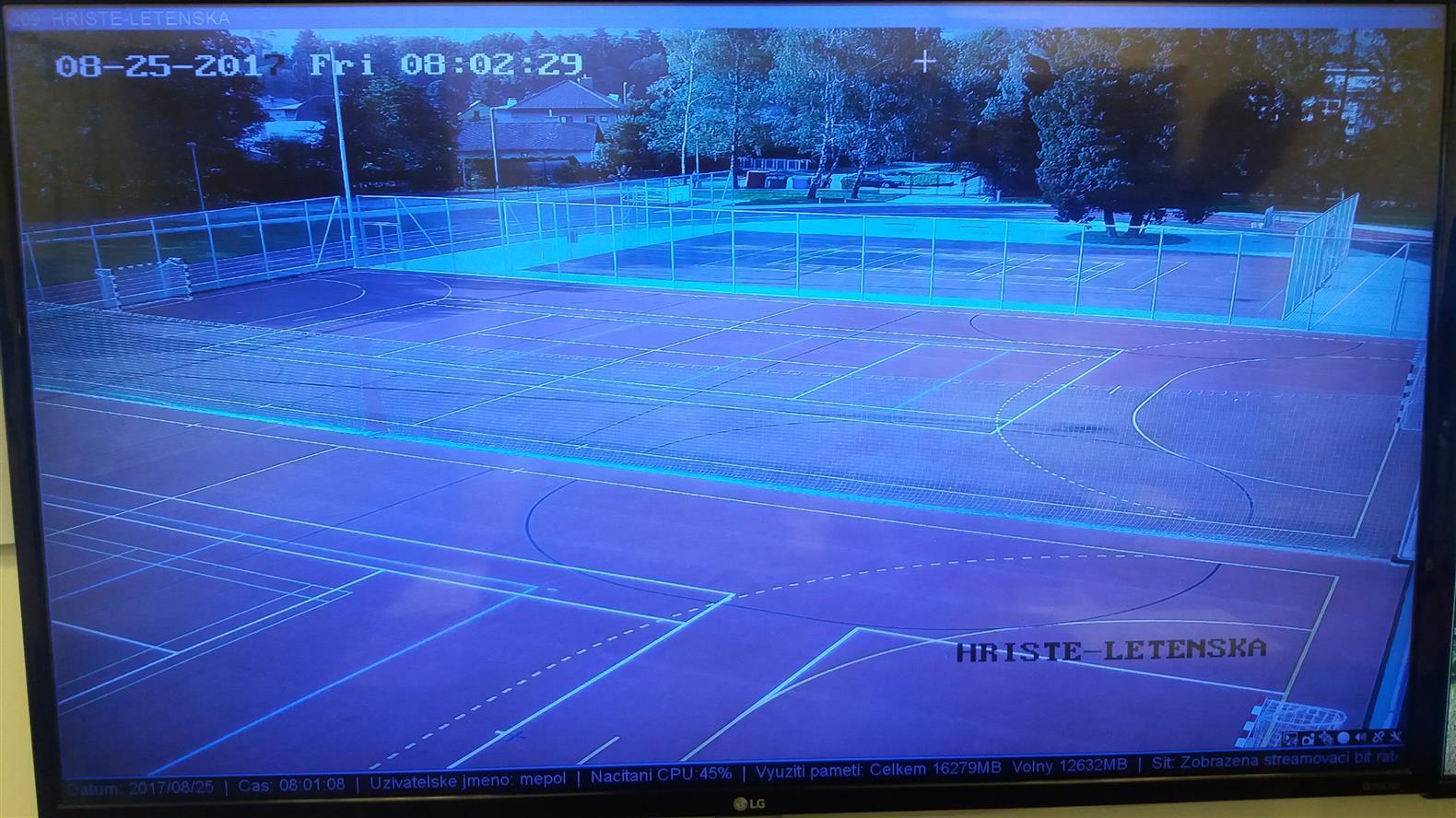 Nové hřiště hlídá kamera
