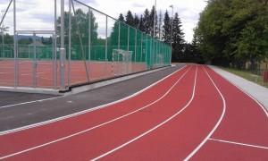 Otevření víceúčelového sportovního hřiště